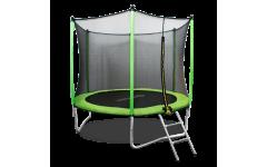 Батут Oxygen Fitness Standard 8 ft outside (Light green)