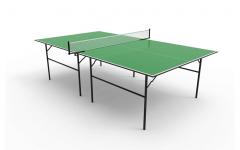 Композитный теннисный стол TopSpinSport Воевода композит (зеленый)