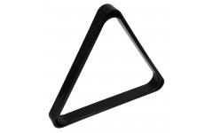 Треугольник Snooker Pro пластик чёрный ø52,4мм
