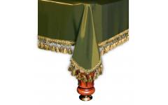 Покрывало Венеция 7фт шёлк олива