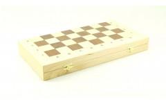 Шахматный ларец складной береза, 40мм