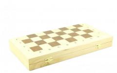 Шахматный ларец складной береза,50 мм