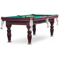 Бильярдный стол для русского бильярда «Дебют» 8 ф (махагон, шар 60 мм, на камне 25 мм)