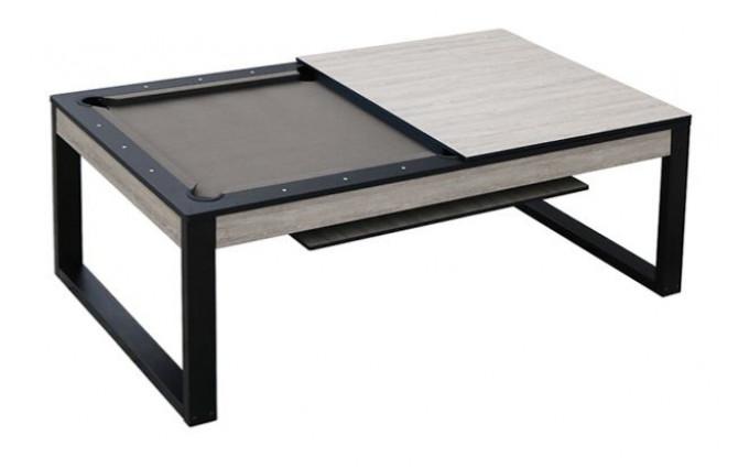 Бильярдный стол для пула 2 в 1 «Pride» 7 ф (беленый дуб) со столешницей, в комплекте аксессуары + сукно