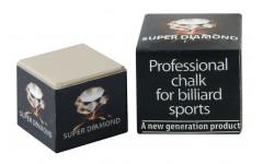 Мел  «Super Diamond Grey» (серый) черная коробка
