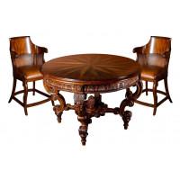 Комплект мебели для игры в карты «Maxene» — ломберный стол + 6 кресел
